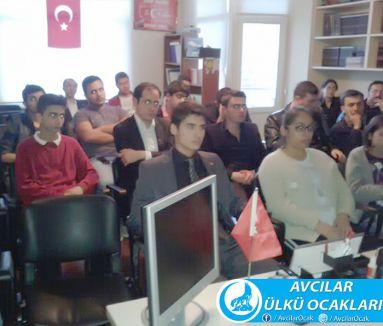 Avcılar Ülkü ocaklarından '3 Mayıs' semineri