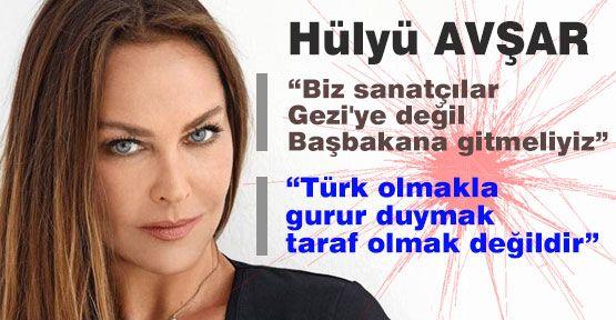 Avşar; 'Türk olmakla gurur duymak taraf olmak değildir'