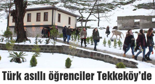 Avusturyalı Türk Öğrenciler Tekkeköy'ü gezdi