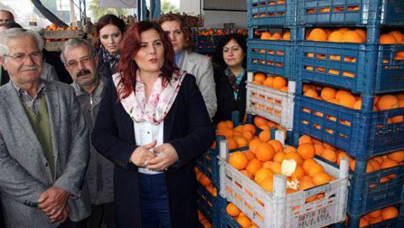 Aydınlı Portakal Üreticisini Sevindiren Satış