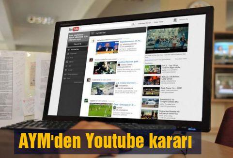 AYM'den Youtube kararı: Hak ihlali...