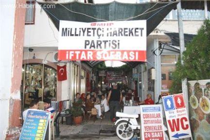 Ayvalık'ta MHP'den Ramazan Boyunca İftar