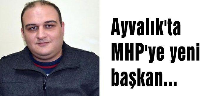 Ayvalık'ta MHP'ye yeni başkan...