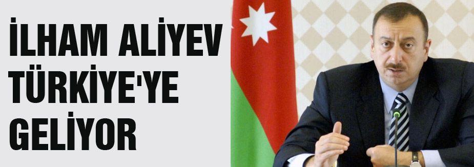 Azerbaycan Cumhurbaşkanı Türkiye'ye geliyor
