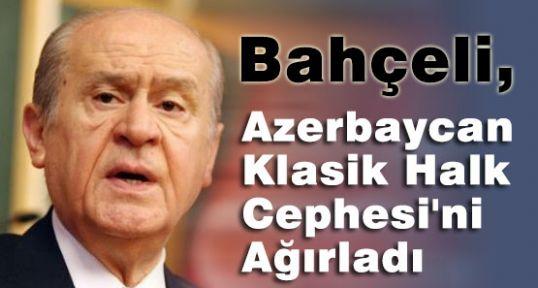 Azerbaycan Klasik Halk Cephesi MHP'yi Ziyaret Etti