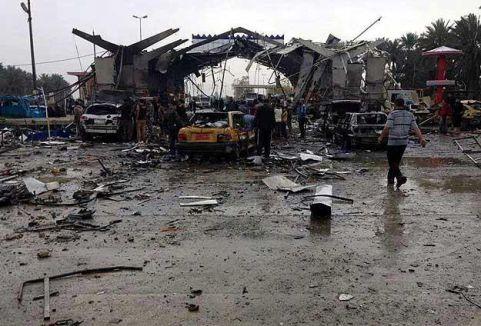 Bağdat'ta bombalı saldırı