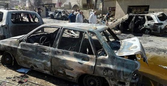 Bağdat'ta patlama çok sayıda ölü ve yaralı...