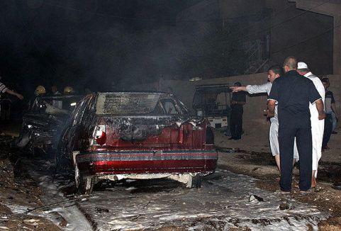 Bağdat'ta patlamalar...