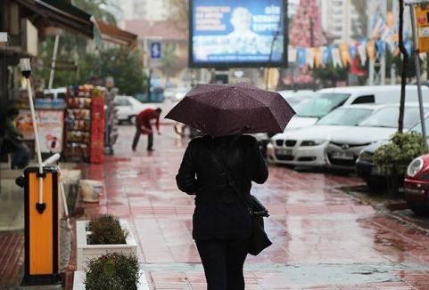 Bahar yağmurları sürecek