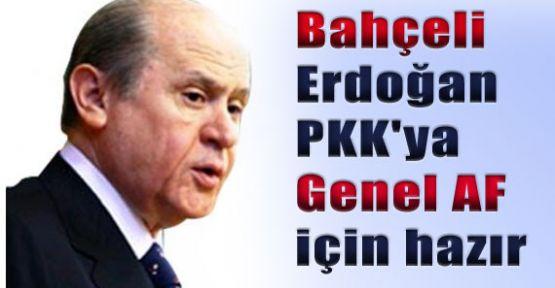 Bahçeli, AKP Terör Duvarına Başını Çarpmıştır.