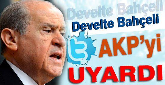 Bahçeli AKP'yi Uyardı