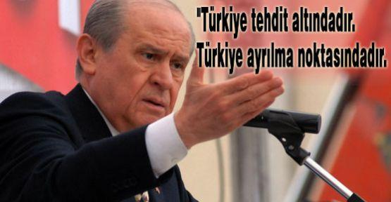 Bahçeli Alanya'dan Seslendi :Türkiye tehdit altındadır