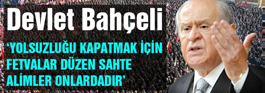 """Bahçeli; """"Bizim nefesimiz, Türk tarihi, Türk kültürü ve Türk dilidir"""""""