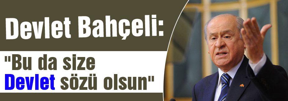 BAHÇELİ