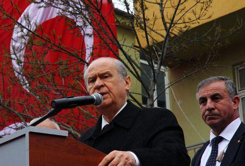 Bahçeli: 'Cumhurbaşkanı olma şansın yok'