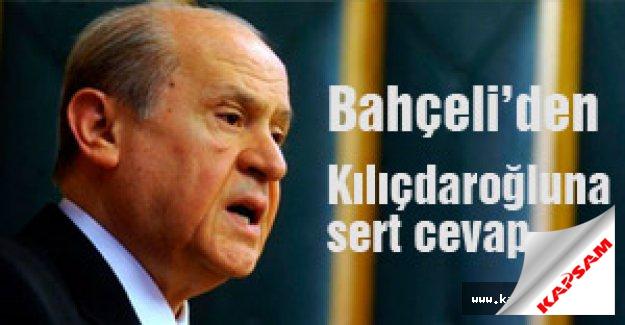 Bahçeli'den Kılıçdaroğlu'na sert cevap!