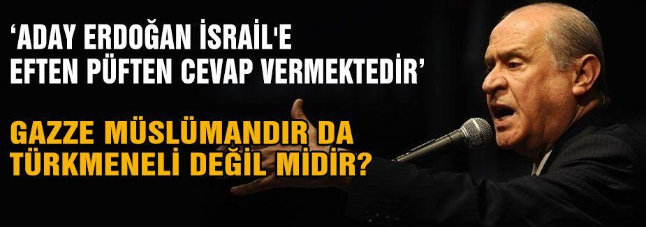 Bahçeli: Erdoğan'a söylemediğini bırakmadı