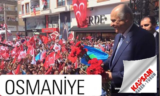 Bahçeli Memleketi Adana-Osmaniye'de konuştu