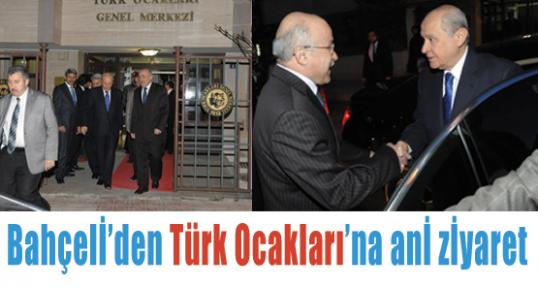 Bahçeli Türk Ocaklarını Ziyaret Etti