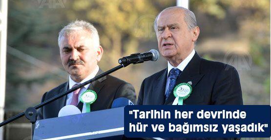 Bahçeli' Türkiye Cumhuriyeti geleceğe uzanacak'