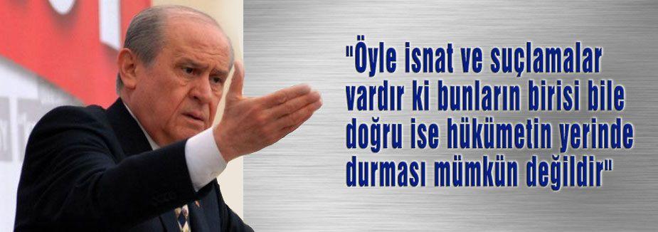 Bahçeli:' Türkiye pırıl pırıl temizlenmeli'