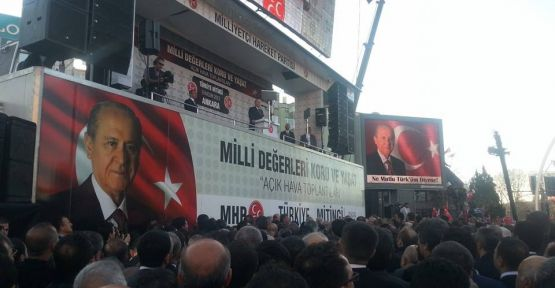 Bahçeli:'Başbakan Sana Rağmen Türk Milleti Olarak Kalacağız'