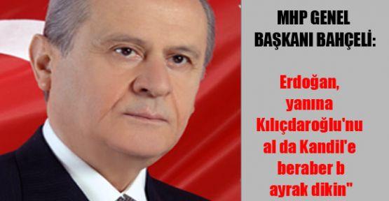 Bahçeli'den Erdoğan'a
