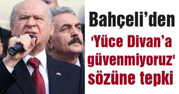 Bahçeli'den Müezzinoğlu'na tepki!