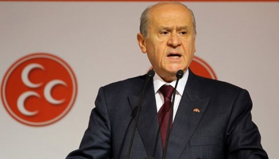 Bahçeli:'Erdoğan belini doğrultamaz'