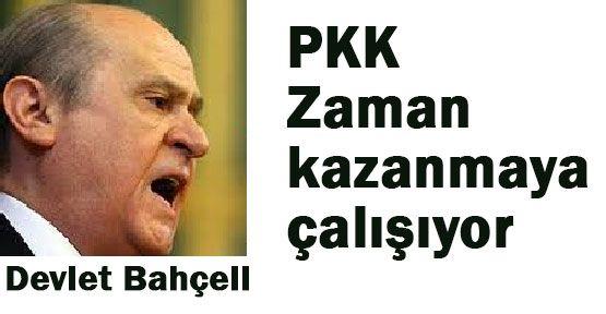Bahçeli: Bu PKK'nın Sinsi Taktiği