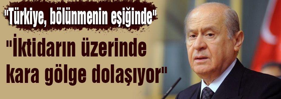 Bahçeli:'Türkiye'de Tek Gündem Var'