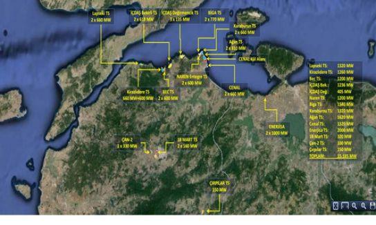 Bakanlıktan Çanakkale'de iki termik santrale yeniden onay