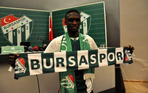 Bakaye Traore Bursaspor'da