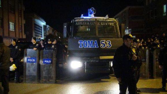 Balgatta Ülkücülere Polis Engeli