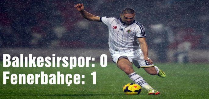 Balıkesirspor: 0 - Fenerbahçe: 1