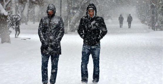 Balkanlar'dan kar geliyor...