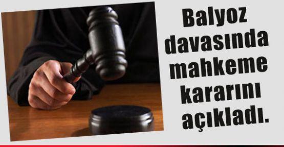 Balyoz Davasında Mahkeme Kararını Verdi