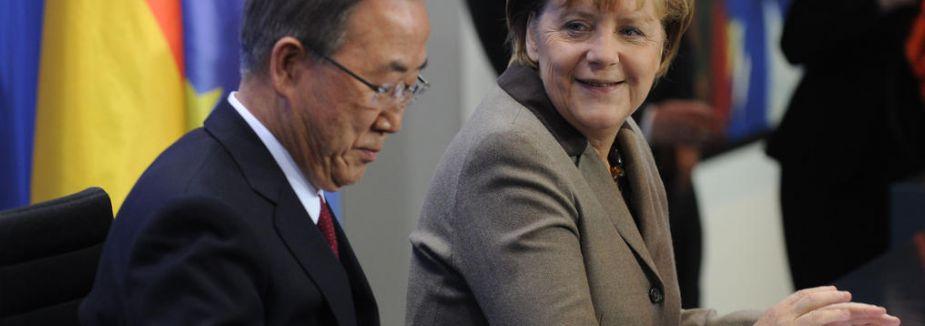 Ban ki-mun ve Merkel Görüştü...