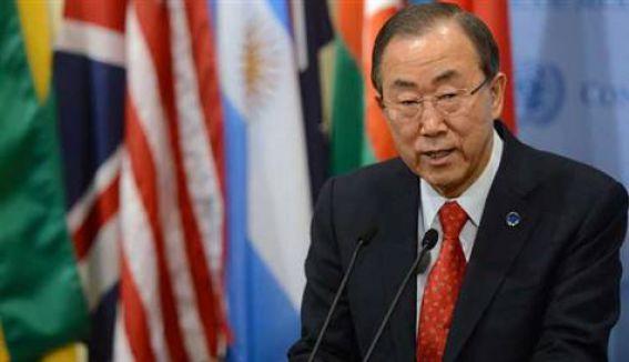 Ban Ki-mun:'Can sıkıcı manzara'