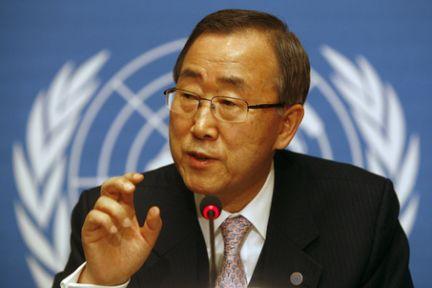 Ban Ki-mun:'Savaş Suç Teşkil Eder'
