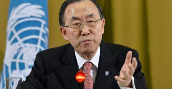 Ban Ki-mun:'Toplantı hemen Olmalı...'