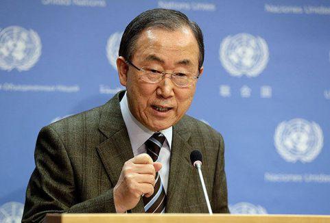 Ban:'Uluslararası hukuka saygı gösterilmeli'