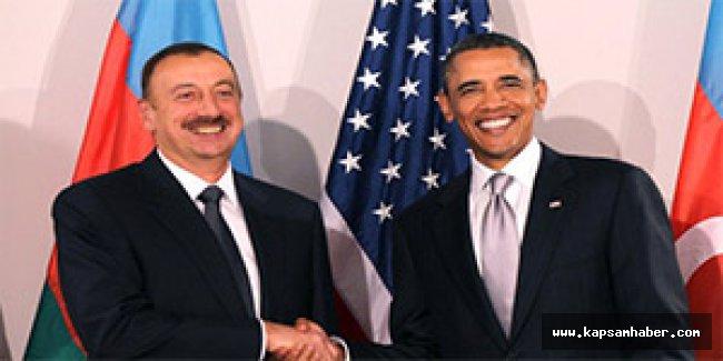 Barack Obama'dan Aliyev'e bayram tebriki
