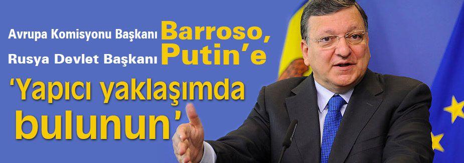 Barroso, Yapıcı yaklaşımda bulunun!