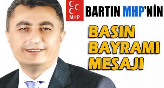 Bartın MHP'den Basın Bayramı Kutlaması