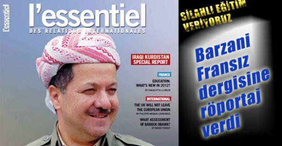 Barzani, 15 Bin Kürde Silahlı Eğitim Veriyoruz