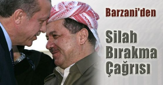 Barzani'den Silah Bırakma Çağrısı