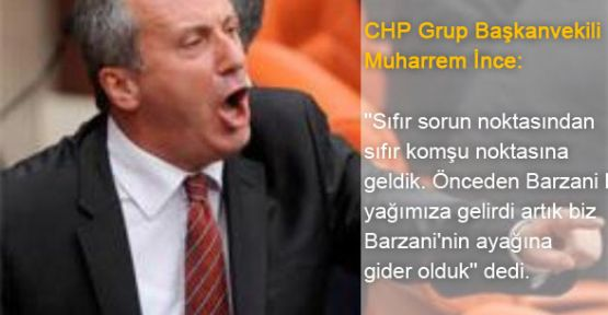 CHP'li İnce: