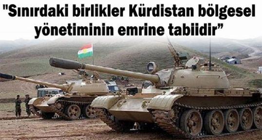 Barzani'nin tankları emir bekliyor...