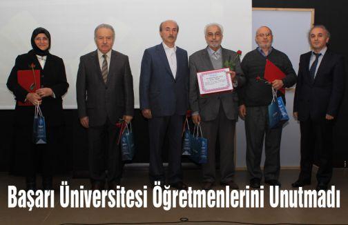 Başarı Üniversitesi Öğretmenlerini Unutmadı